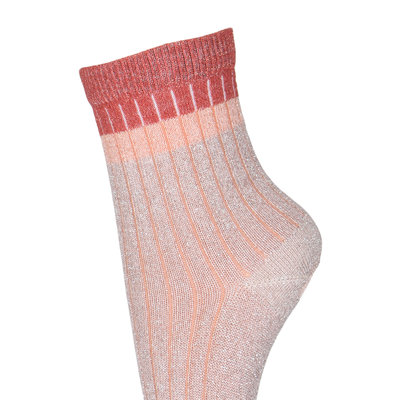 MP DENMARK MP NORMA GLITTER SOCKS ROSE DUST