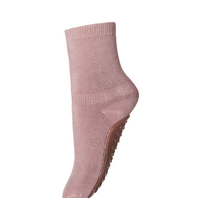 MP DENMARK MP COTTON SOCKS ANTI-SLIP ROSE GREY
