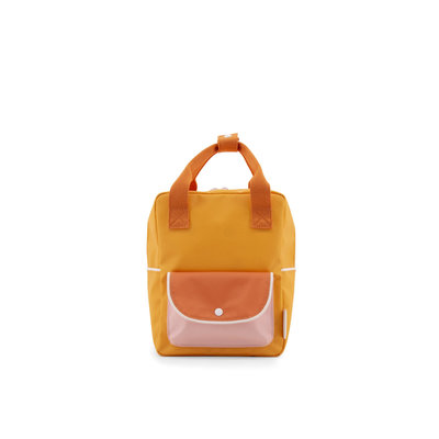 STICKY LEMON STICKY LEMON BACKPACK SMALL YELLOW ORANGE PINK