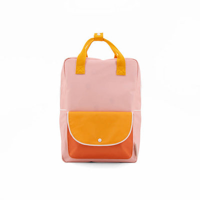 STICKY LEMON STICKY LEMON BACKPACK LARGE PINK YELLOW ORANGE