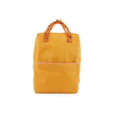 STICKY LEMON STICKY LEMON BACKPACK LARGE FRECKLES YELLOW ORANGE PINK