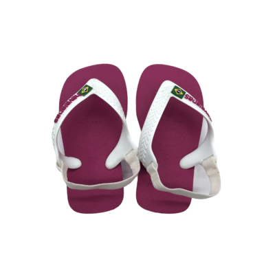 HAVAIANAS HAVAIANAS BABY BRASIL LOGO HOLLYWOOD ROSE