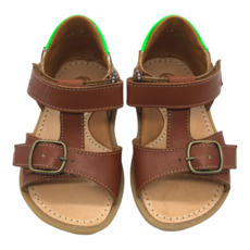 RONDINELLA RONDINELLA FIRST SANDAL CAMEL