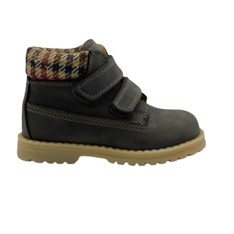 RONDINELLA RONDINELLA FIRST T BOOT VELCRO BROWN