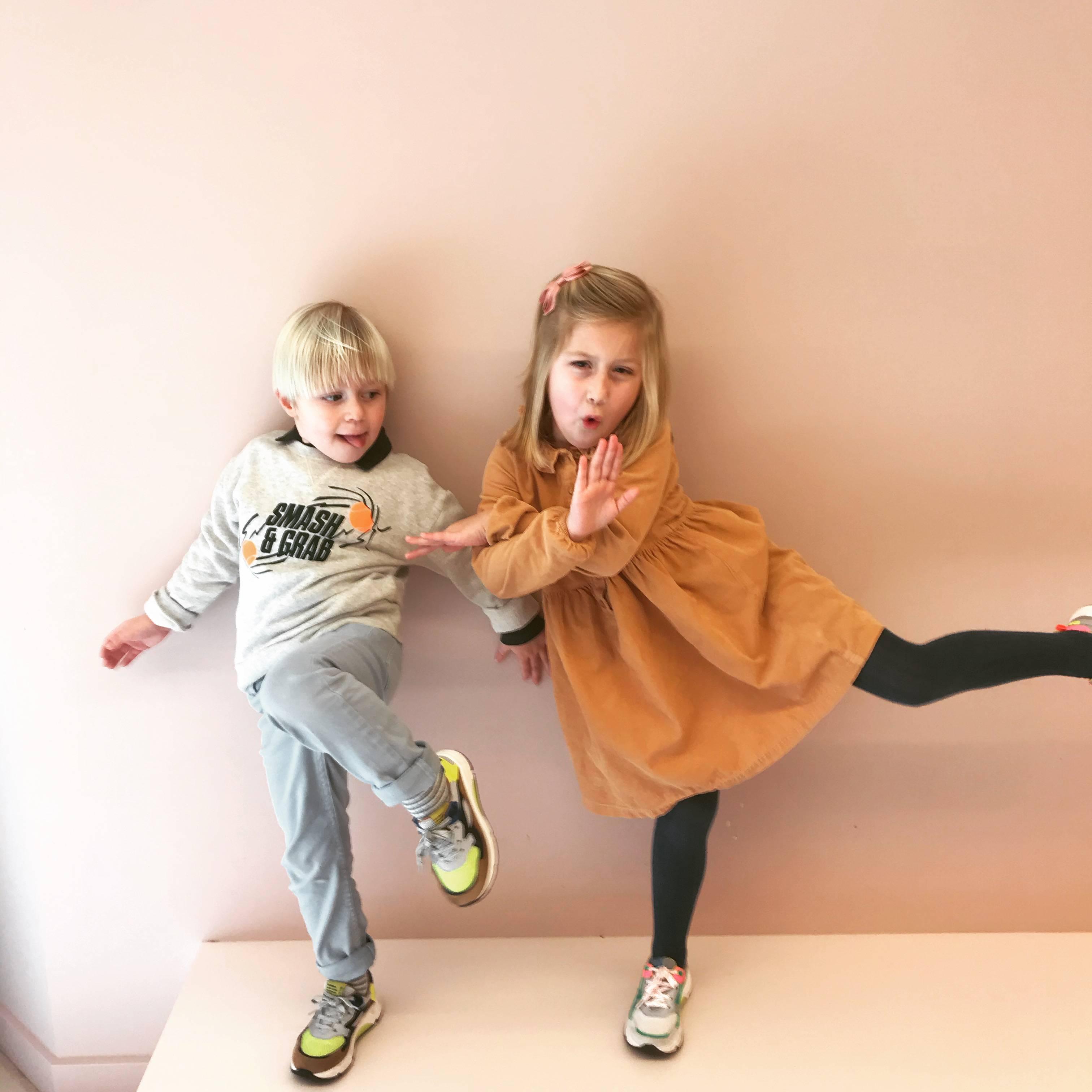 Brilliant shoes for sparkling kids!