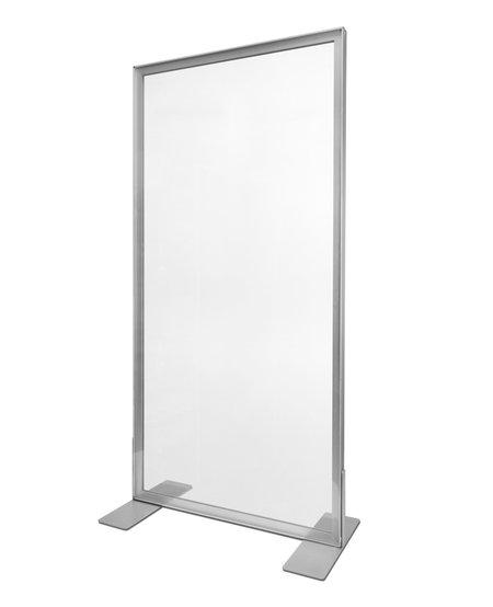 100x140cm - Frame: Zilver - Doek: Transparant (1 stuk)