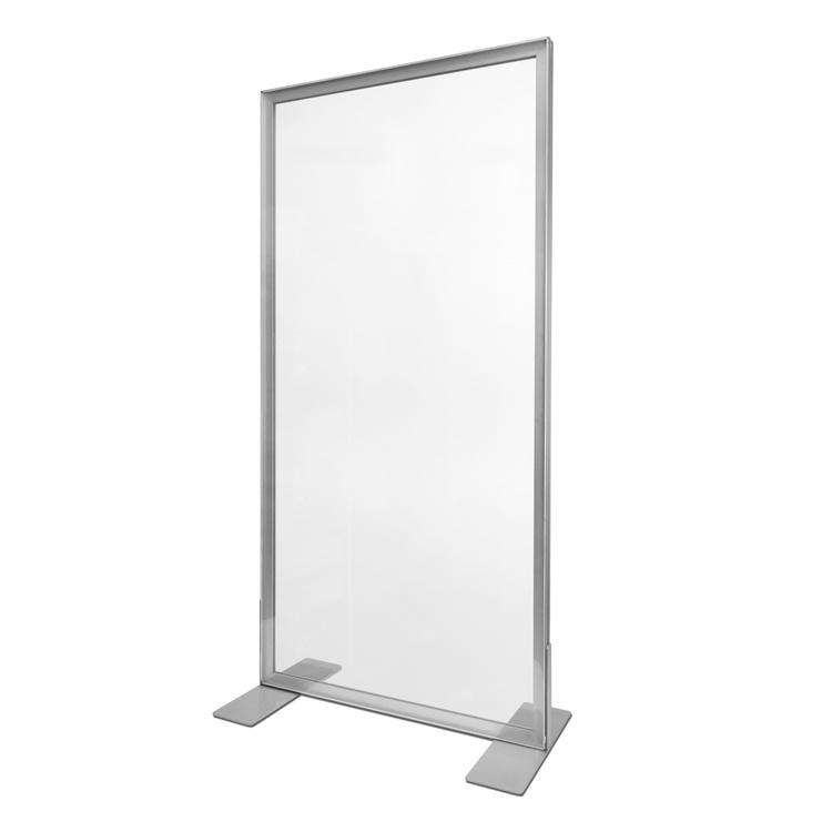 100x140cm - Frame: Zilver - Doek: Transparant (10 stuks+)