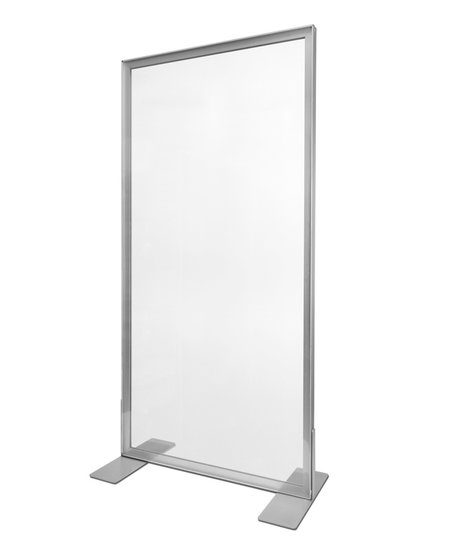 100x140cm - Frame: Zilver - Doek: Transparant (20 stuks+)