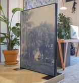 100x140cm - Frame: Zwart - Doek: Full Colour (20 stuks+)