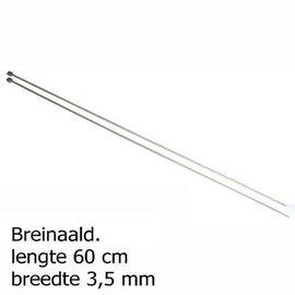 Pony breinaalden tweestel 3,50mm 60cm