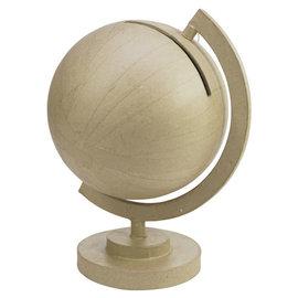 Décopatch  Urne - Wereldbol