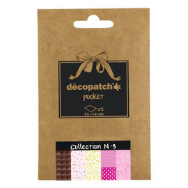 Decopatch Pocket Collectie nr.3