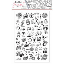 Stempels Bullet Journal Outdoors, 54 delig