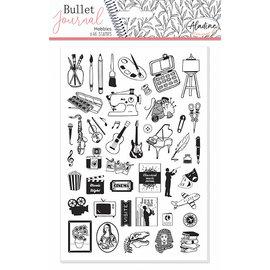 Stempels Bullet Journal Hobby's, 46 delig
