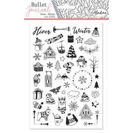 Stempels Bullet Journal Winter