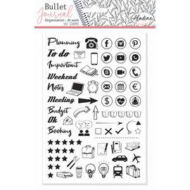 Stempels Bullet Journal Organisator bureau 2