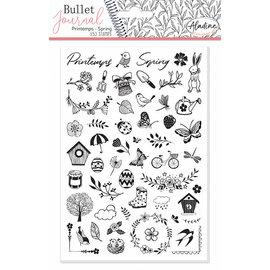Stempels Bullet Journal Lente