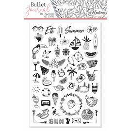 Stempels Bullet Journal Zomer - été