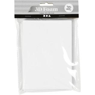 3D Foam, 5 vellen 105x148x2mm