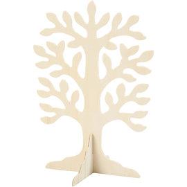 houten boom 30x21,5cm 2mm