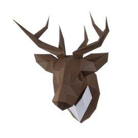 """Wizardi 3D papier craft models, Interieur Decor """"Hert"""""""