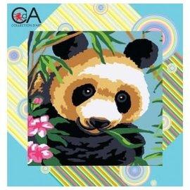 Tapestry Printing Kit 25x25cm Panda