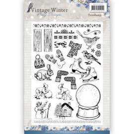 Clear Stamp Vintage Winter