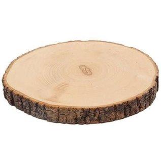Boomschorsschijf rond diameter 8-10cm