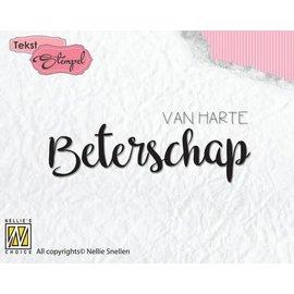 Clearstamp Nellie's Choice Beterschap