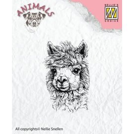 Clearstamp Nellie's Choice Lama