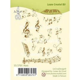 Combi Clear Stamp Music