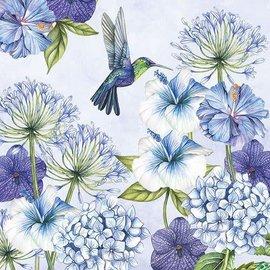 Servetten 5st. - Hummingbird