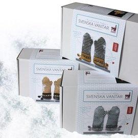 Haakpakket Zweedse wanten ivory*