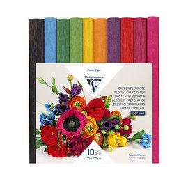 Papier crêpe fleuriste 25x100cm
