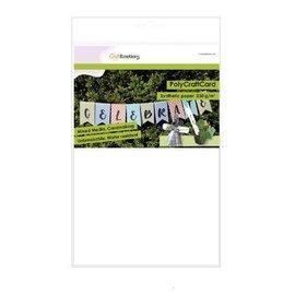 Synthetisch papier - PolyCraftCard wit 10 vellen, A4, 230 g/m²