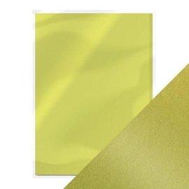 Tonic Pearlecent karton - Lime Light 5 vellen, A4, 250g.