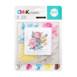 Memory Keepers Stamp Kit Rose