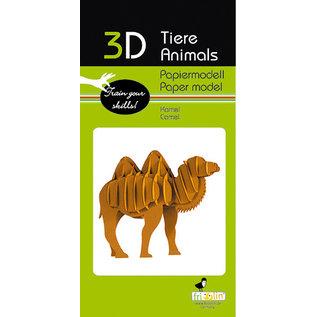 3D Papiermodell, Camel