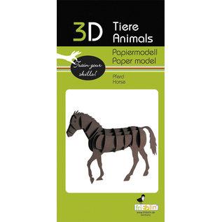 3D Papiermodell, Horse