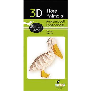 3D Papiermodell, Pelikan