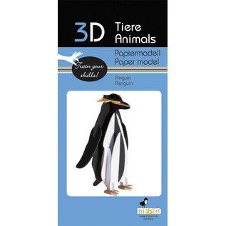 3D Papiermodell, Pinguin