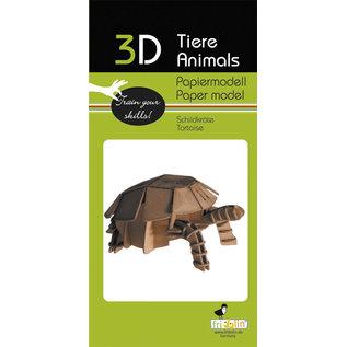 3D Papiermodell, Tortoise