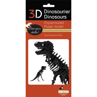 3D Papiermodell, Tyrannosaurus Rex
