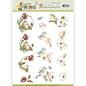 3D Puchhout - Precious Marieke - Happy Spring - Happy Birds
