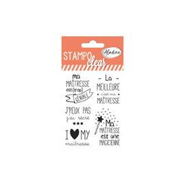 Clearstamps Individuel Maitresse