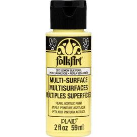 FolkArt FolkArt • Multi-Surface pearl Lemon silk 59ml