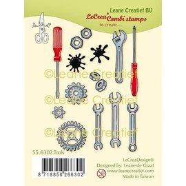 LeCrea Design Clearstamp Tools - combi gereedschap