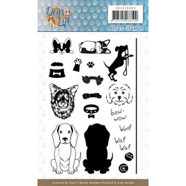 Clear Stamps - Amy Disign - Dog's Life