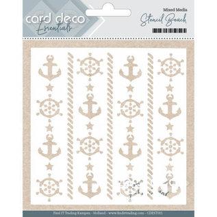 Card Deco Essentials Mixed Media Stencil