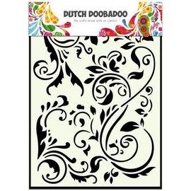 Dutch Doobadoo Dutch Mask Art stencil swirls A5
